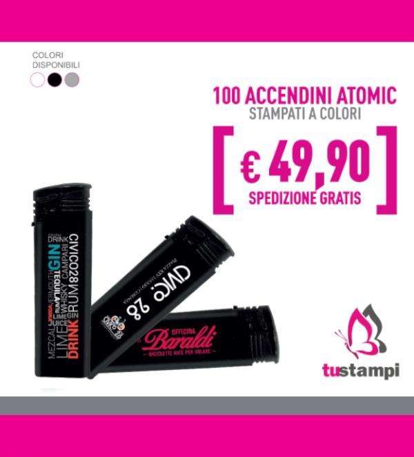 100 accendini atomic