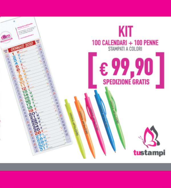 100 calendari 100 penne